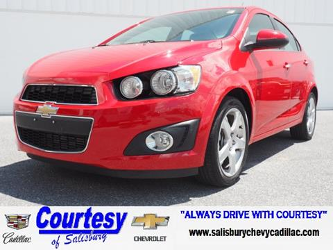 2015 Chevrolet Sonic for sale in Salisbury, MD