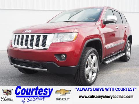 2012 Jeep Grand Cherokee for sale in Salisbury MD