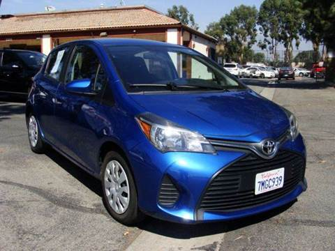 2015 Toyota Yaris for sale in Montclair, CA