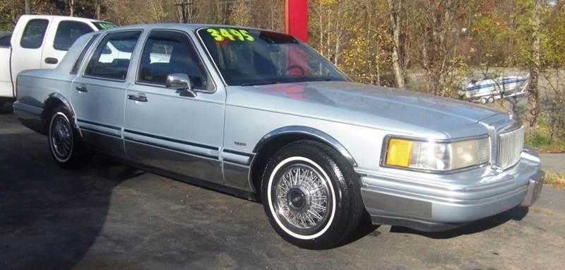 1992 Lincoln Town Car Executive 4dr Sedan In Asheville NC