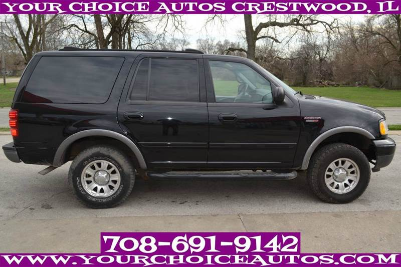 2000 ford expedition 4dr xlt 4wd suv in posen il your. Black Bedroom Furniture Sets. Home Design Ideas