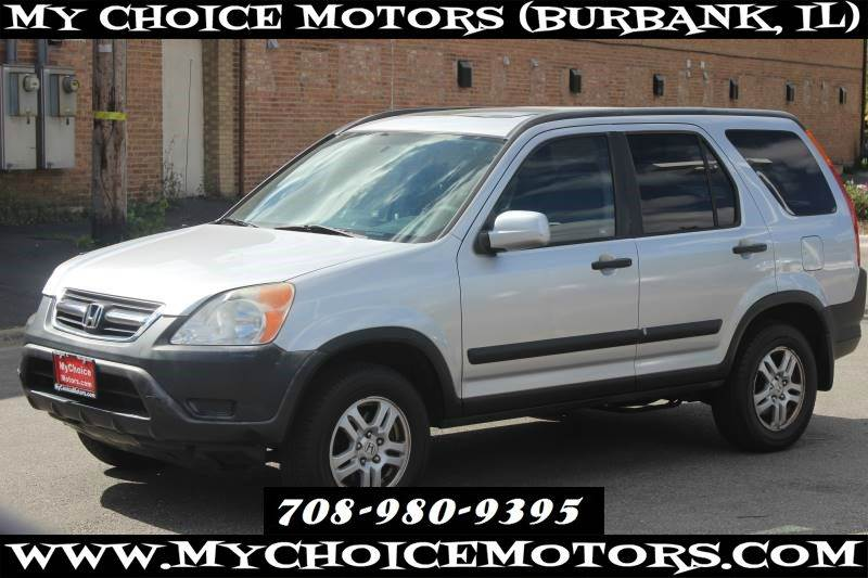 2002 Honda Cr V Ex Awd In Posen Il My Choice Motors