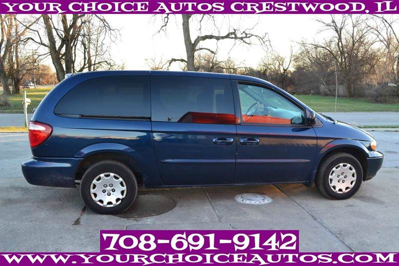 2003 chrysler town and country in posen il your choice autos. Cars Review. Best American Auto & Cars Review