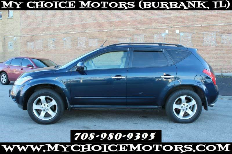 2004 Nissan Murano Se In Posen Il My Choice Motors