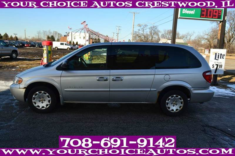 2001 chrysler town and country in posen il your choice autos. Cars Review. Best American Auto & Cars Review