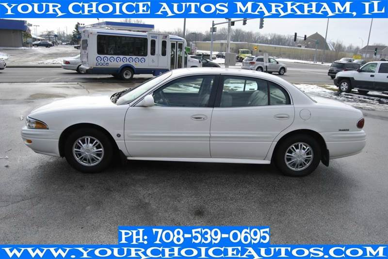 2002 Buick Lesabre Custom 4dr Sedan In Posen Il My