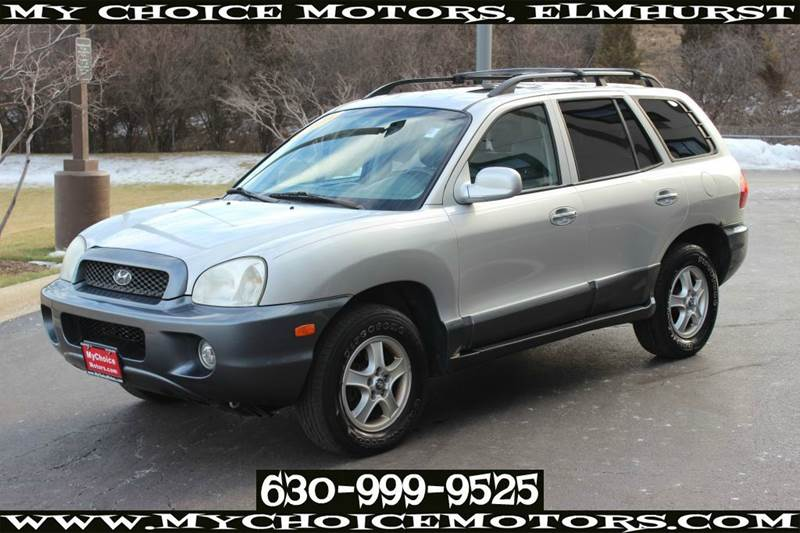 2004 hyundai santa fe gls awd 4dr suv in posen il my choice motors. Black Bedroom Furniture Sets. Home Design Ideas