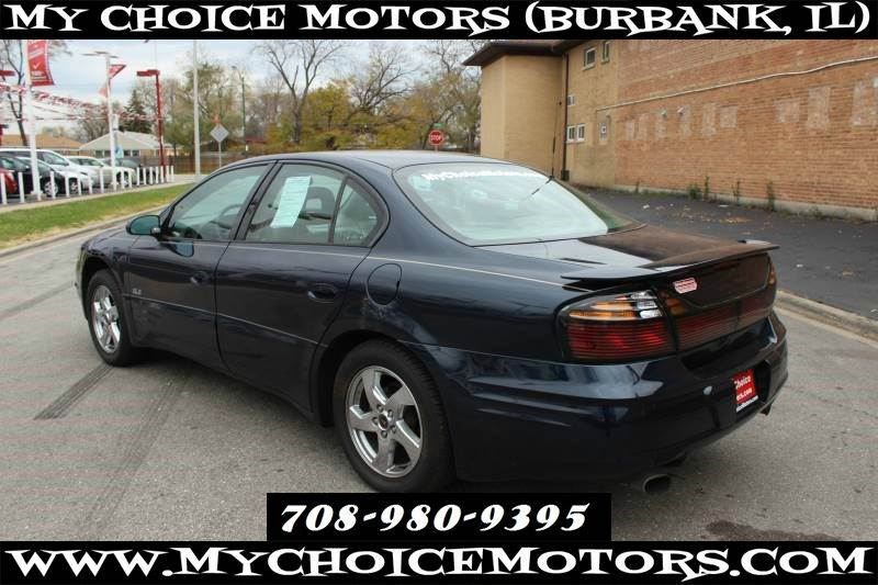 2002 Pontiac Bonneville Sle In Posen Il My Choice Motors