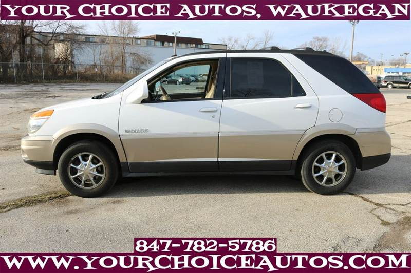 2003 buick rendezvous cxl awd 4dr suv leather 3rd row. Black Bedroom Furniture Sets. Home Design Ideas