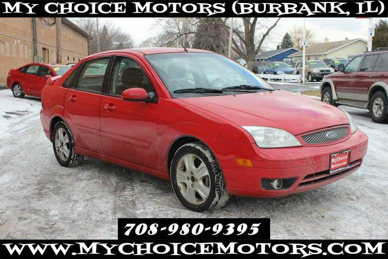 2005 ford focus zx4 st 4dr sedan in posen il my choice. Black Bedroom Furniture Sets. Home Design Ideas