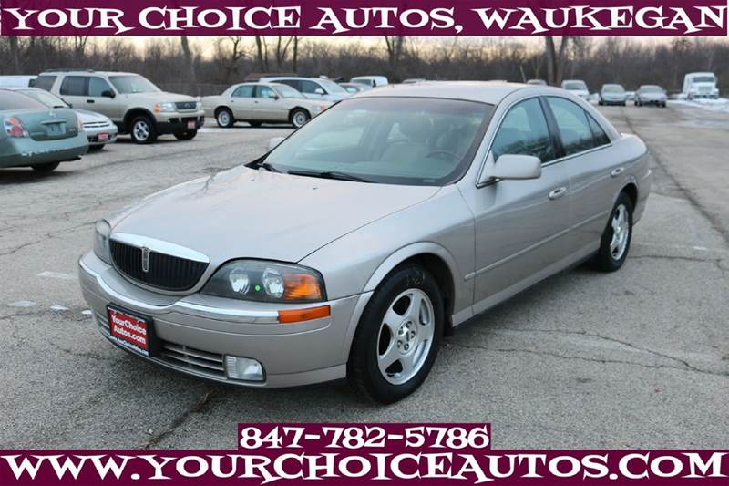 2000 Lincoln Ls 4dr V6 Sedan In Posen Il My Choice Motors