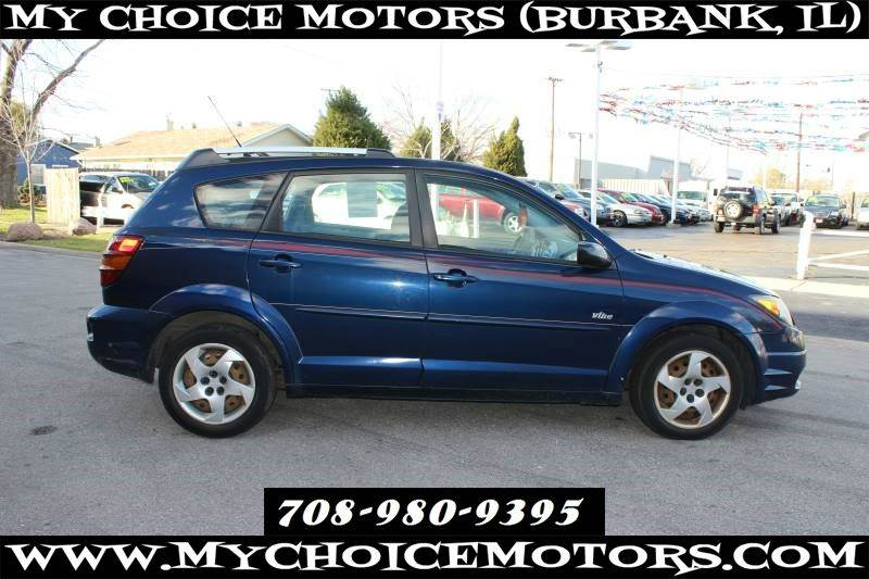 2004 Pontiac Vibe Awd 4dr Wagon 1 Owner In Posen Il My
