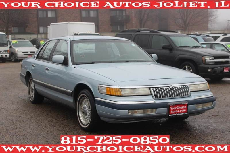 1992 Mercury Grand Marquis Ls 4dr Sedan In Posen Il My