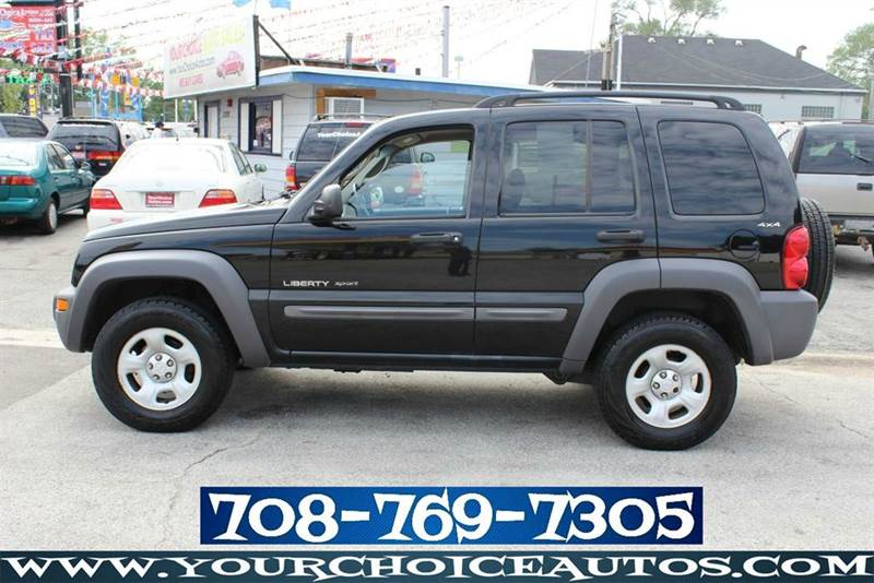 2002 jeep liberty sport 4dr 4wd keyless entry sunroof. Black Bedroom Furniture Sets. Home Design Ideas