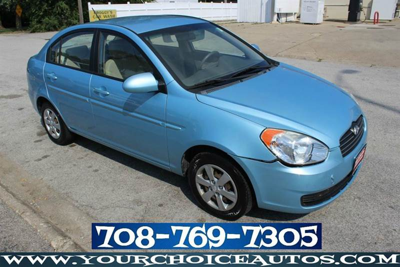 2009 hyundai accent gls 4dr sedan actual low miles 91k 4. Black Bedroom Furniture Sets. Home Design Ideas
