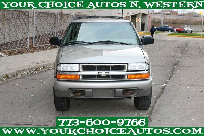 2004 Chevrolet Blazer Ls 4wd In Posen Il My Choice Motors