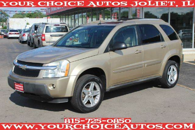 2005 chevrolet equinox lt 4dr family suv cd player leather clean heated seats good tires. Black Bedroom Furniture Sets. Home Design Ideas