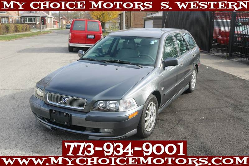 2001 Volvo V40 Se 4dr Turbo Wagon In Posen Il My Choice
