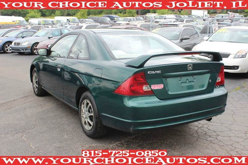 2001 Honda Civic Lx 4 Cylinder In Posen Il My Choice Motors
