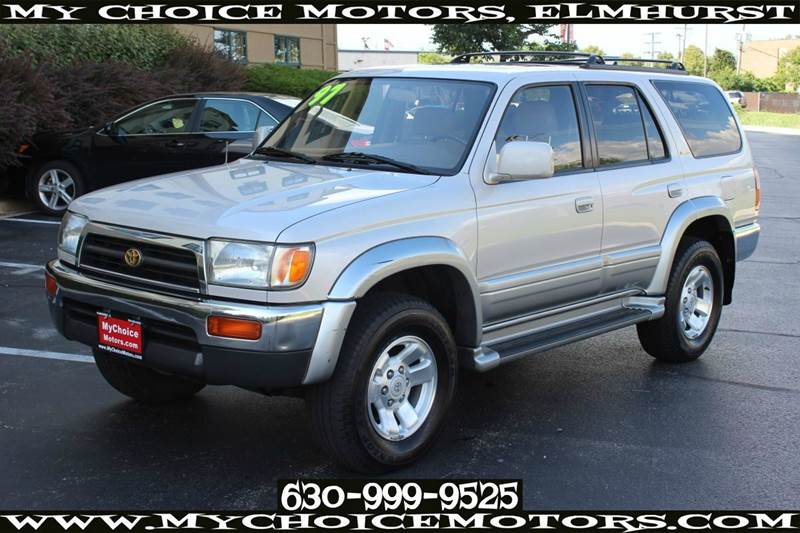 1997 toyota 4runner limited 4dr 1 owner 4wd leather cd. Black Bedroom Furniture Sets. Home Design Ideas