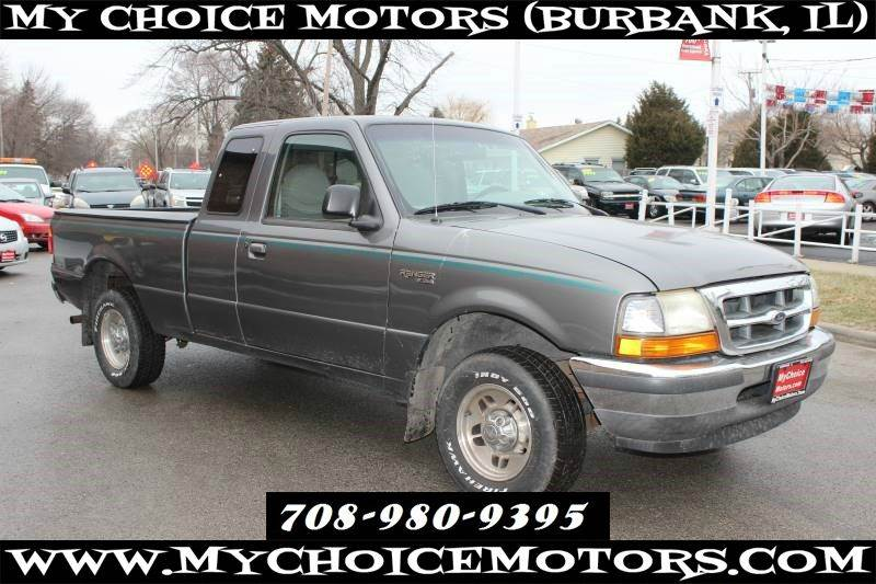 1998 Ford Ranger Splash 2dr Extended Cab Stepside Sb In