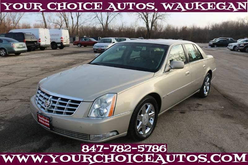 2007 Cadillac Dts 4dr Sedan In Posen Il My Choice Motors