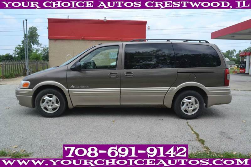 2002 pontiac montana 4dr extended mini van 3rd row seating. Black Bedroom Furniture Sets. Home Design Ideas