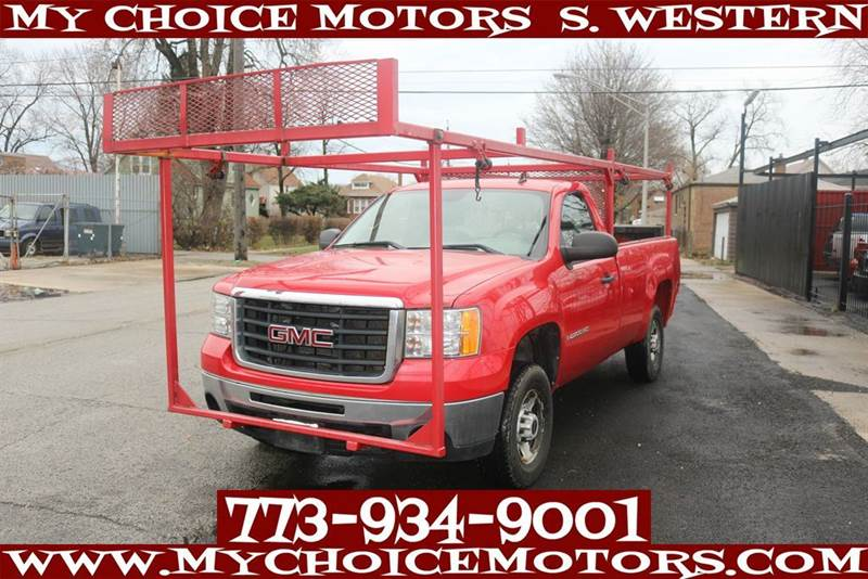 2007 Gmc Sierra 2500hd Work Truck Lb Hydraulic Lift Ladder