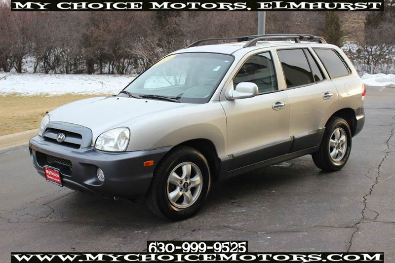 2005 hyundai santa fe in posen il your choice autos. Black Bedroom Furniture Sets. Home Design Ideas