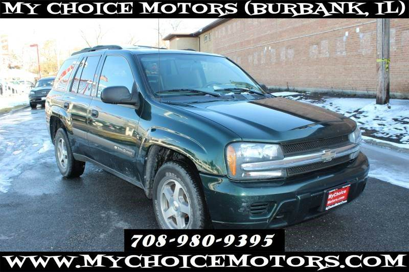 2004 Chevrolet Trailblazer Ls 4x4 In Posen Il My Choice