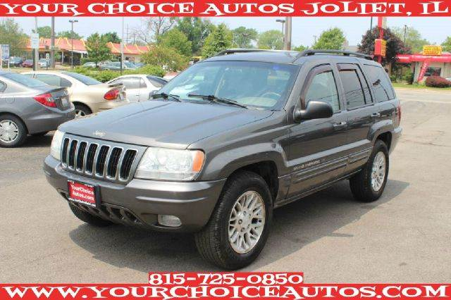 2002 jeep grand cherokee limited 4wd good tires leather towing package in posen joliet. Black Bedroom Furniture Sets. Home Design Ideas