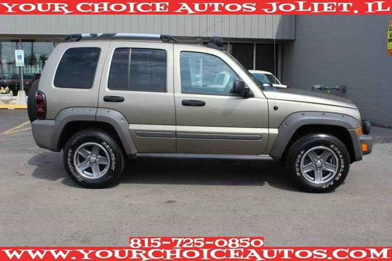 2005 jeep liberty renegade 4wd suv good tires key less. Black Bedroom Furniture Sets. Home Design Ideas