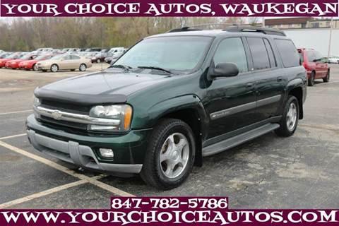 2004 Chevrolet TrailBlazer EXT for sale in Waukegan, IL