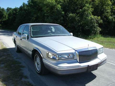 1996 Lincoln Town Car for sale in Laurinburg, NC