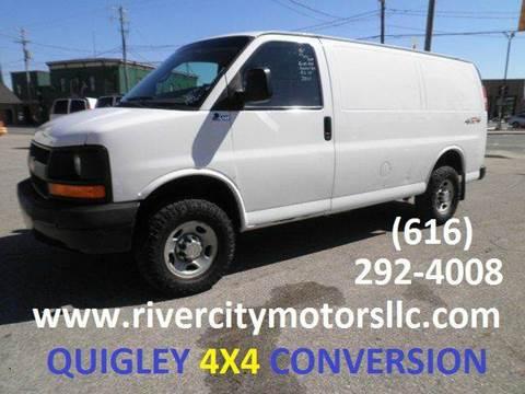2010 Chevrolet Express Cargo 4x4