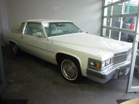 Used 1979 Cadillac Deville For Sale Carsforsale Com