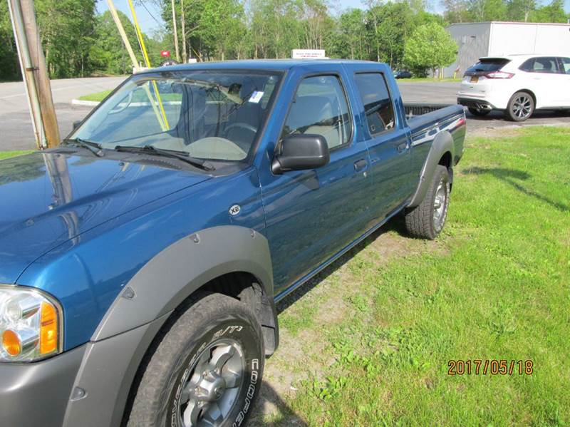 2003 Nissan Frontier 4dr Crew Cab XE-V6 4WD LB - Montgomery NY