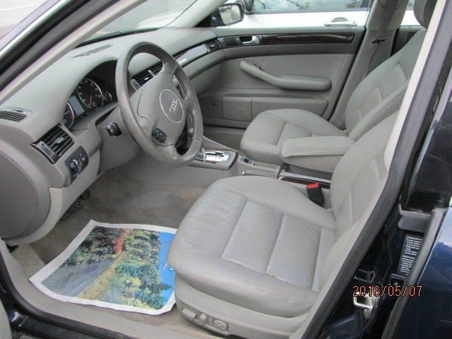 2004 Audi A6 AWD 2.7T S-Line quattro 4dr Sedan - Montgomery NY