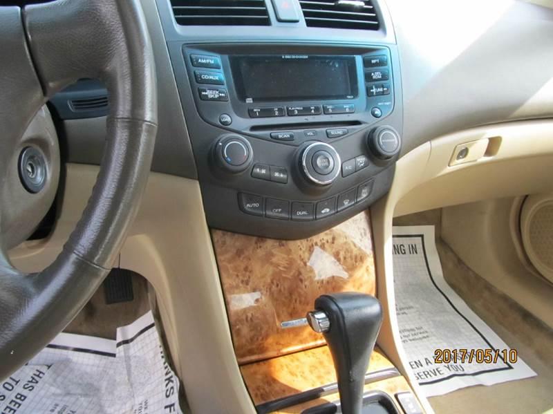 2003 Honda Accord EX 4dr Sedan - Montgomery NY