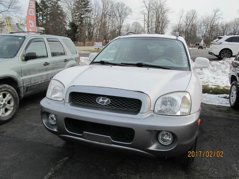 2003 hyundai santa fe awd gls 4dr suv in montgomery ny. Black Bedroom Furniture Sets. Home Design Ideas
