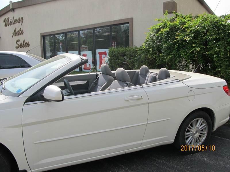 2008 Chrysler Sebring Touring 2dr Convertible - Montgomery NY