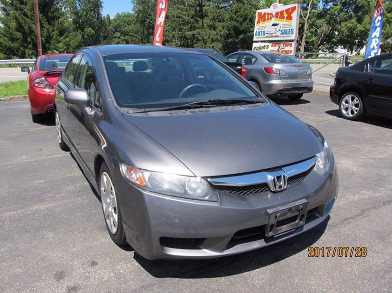 2010 Honda Civic LX 4dr Sedan 5A - Montgomery NY