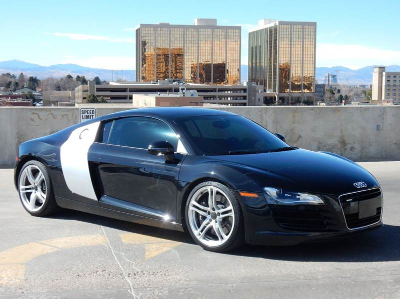 2009 audi r8 quattro awd 2dr coupe 6a in denver co paramount motor sports. Black Bedroom Furniture Sets. Home Design Ideas