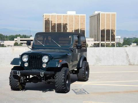 1983 Jeep CJ-7 for sale in Denver, CO