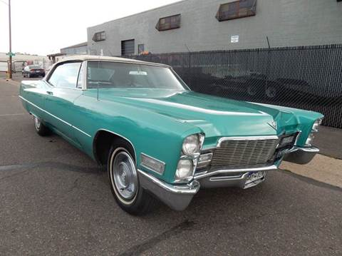 1968 Cadillac Coupe DeVille Convertible 2dr for sale in Denver, CO