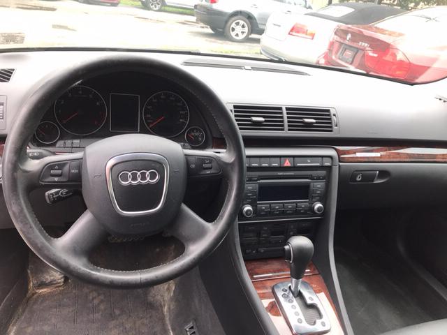 2007 Audi A4 2.0T quattro AWD 4dr Sedan (2L I4 6A) - Corning NY