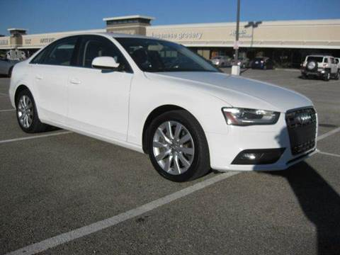 2013 audi a4 for sale in houston tx. Black Bedroom Furniture Sets. Home Design Ideas