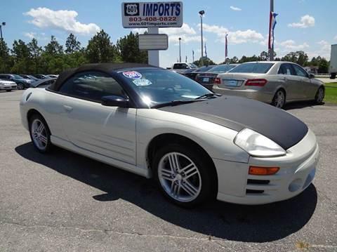 Mitsubishi Eclipse For Sale South Carolina - Carsforsale.com