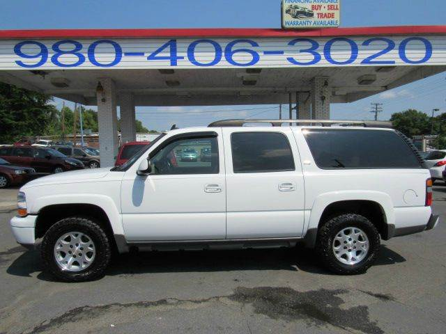 2006 CHEVROLET SUBURBAN LS 1500 SUV 4WD 181 A MONTH white 181 payment financing available fo