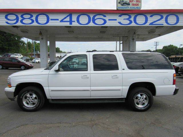 2003 CHEVROLET SUBURBAN 1500 4DR 4WD SUV 173 A MONTH white 173 payment financing available f